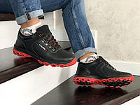 Мужские зимние кроссовки черные Colambia 8738