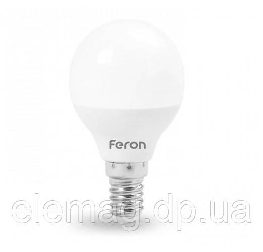6W Светодиодная лампа Feron шарик E14 4000K