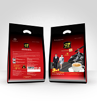 Вьетнамский  кофе 3в1 с сахаром и сливками G7 Trung Nguen 50шт*16 грамм (Вьетнам)