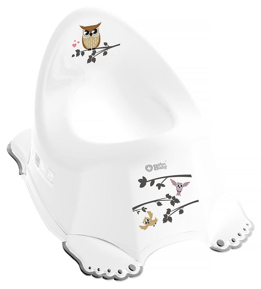 Горшок Tega Owl (plus baby) PB-SOWA-001 нескользящий 103 white