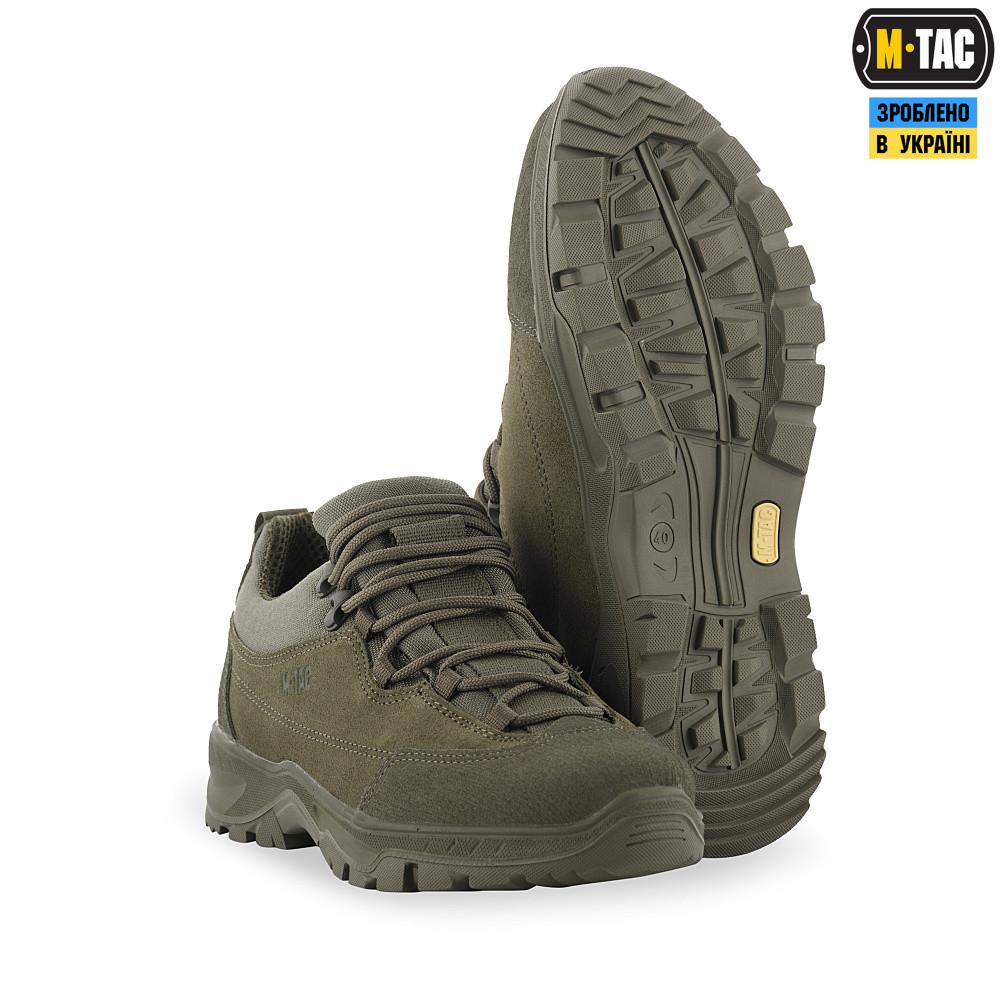M-Tac кросівки тактичні Patrol R Olive