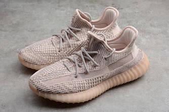 Adidas Yeezy Boost 350 V2 Pink Gray розовые женские (Reflective)