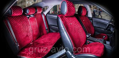 Накидки на сидения CAR Fashion PREMIUM