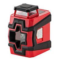 Уровень лазерный 360 град, 2 лазерные головки, зеленый лазер INTERTOOL MT-3062