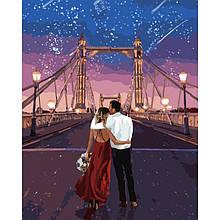 Картина по номерам Город влюбленных ТМ Идейка 40 х 50 см КНО4663