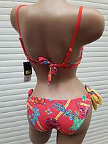 Купальник анжелика двусторонние плавки Sisianna 98297 красный на 44 46 48 50  размер, фото 2