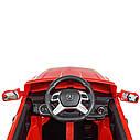 Дитячий електромобіль M 3568 EBLR-3, Mercedes ML350, червоний, фото 6