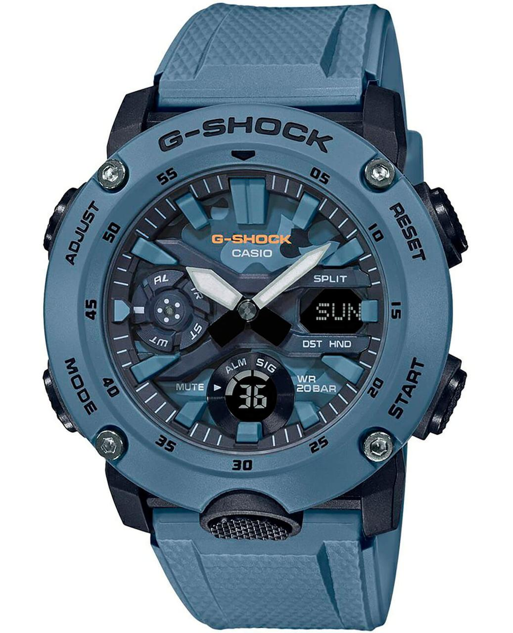 Часы Casio G-Shock GA-2000SU-2A Carbon Core Guard