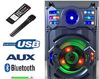 Аккумуляторная колонка с микрофоном A12-11 (USB/Bluetooth/120W)
