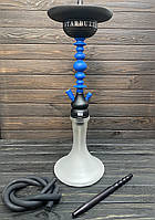 Кальян шахта Starbuzz (Старбаз) ICE Short 1.0 Made in USA - Blue&Black (оригінал) Craft біла