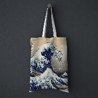 Шопер, еко-сумка Велика хвиля в Канаґава, Кацусіка Хокусай