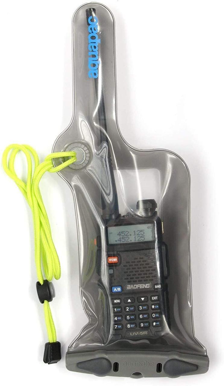 Водонепроницаемый чехол для радиостанции Aquapac VHF Classic Waterproof Radio Case Small cool grey (228)