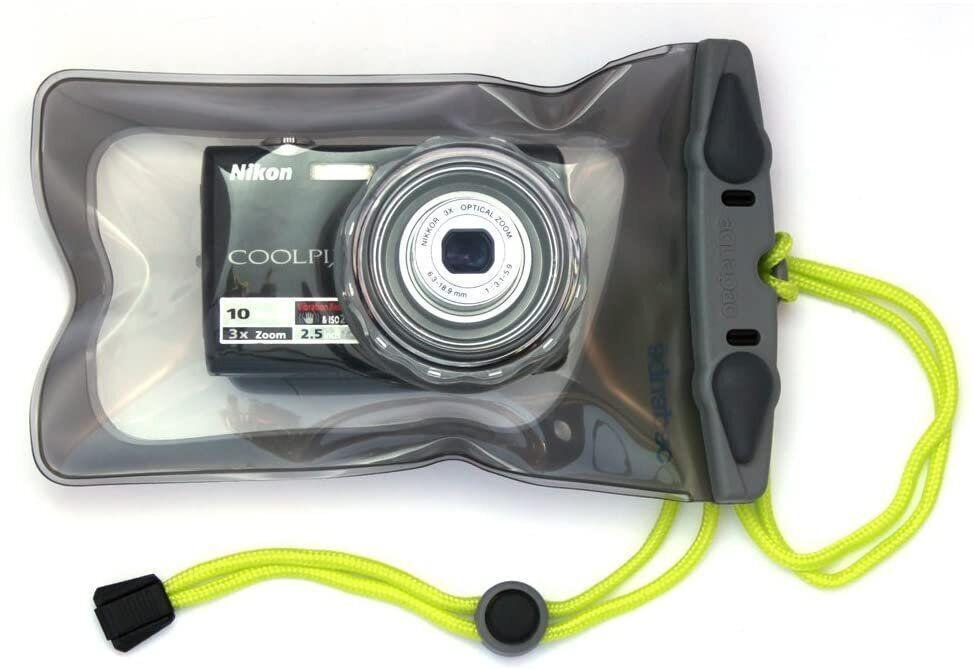 Водонепроникний чохол для фотоапарата Aquapac Waterproof Camera Case with hard lens Mini cool grey (428)
