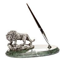 """Настольная подставка для ручки """"Лев"""", фото 1"""