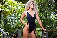 Женский пляжный купальник Black Waves oversize, фото 1