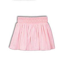 Детская юбка для девочки, ярко-розовая, размер 6-7 лет
