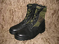 Ботинки EU 46 летние BW Baltes Tropenstiefel оригинал ВС Германии Bundeswehr Б/У - Black/Olive - Лот 78, фото 1