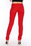 Брюки OMATjeans 9397-442 красные, фото 2