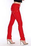 Брюки OMATjeans 9397-442 красные, фото 6