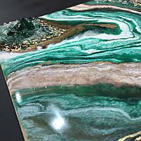 Картина срез камня с кристаллами, фото 1