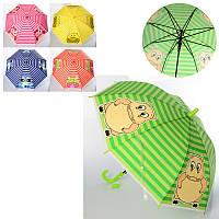 Зонтик детский MK 3606-1, длина 66см, трость 60см, диаметр 82см