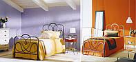 Кованая кровать FANTASY, односпальная, К1035