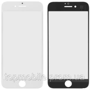 Стекло для iPhone 7, белое