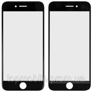 Стекло для iPhone 7, черное