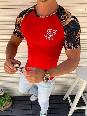 Футболка мужская стильная 100% коттон , впринт (S-ХL), фото 2