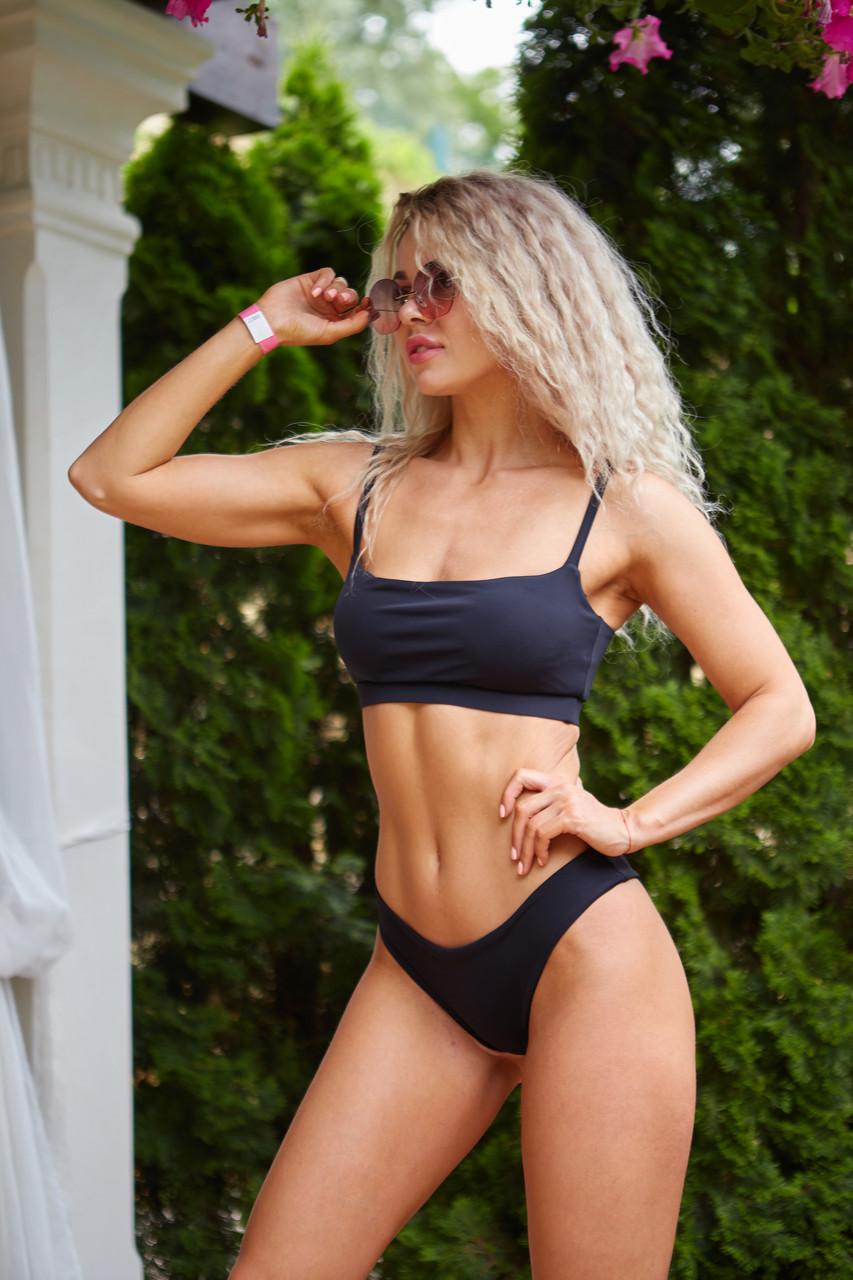 Женский пляжный купальник тройка Marlin Black