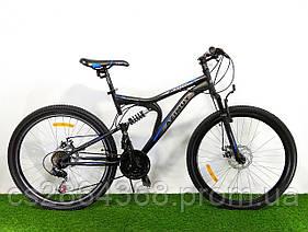 Двухподвесный горный велосипед Azimut Blaster 24 D+