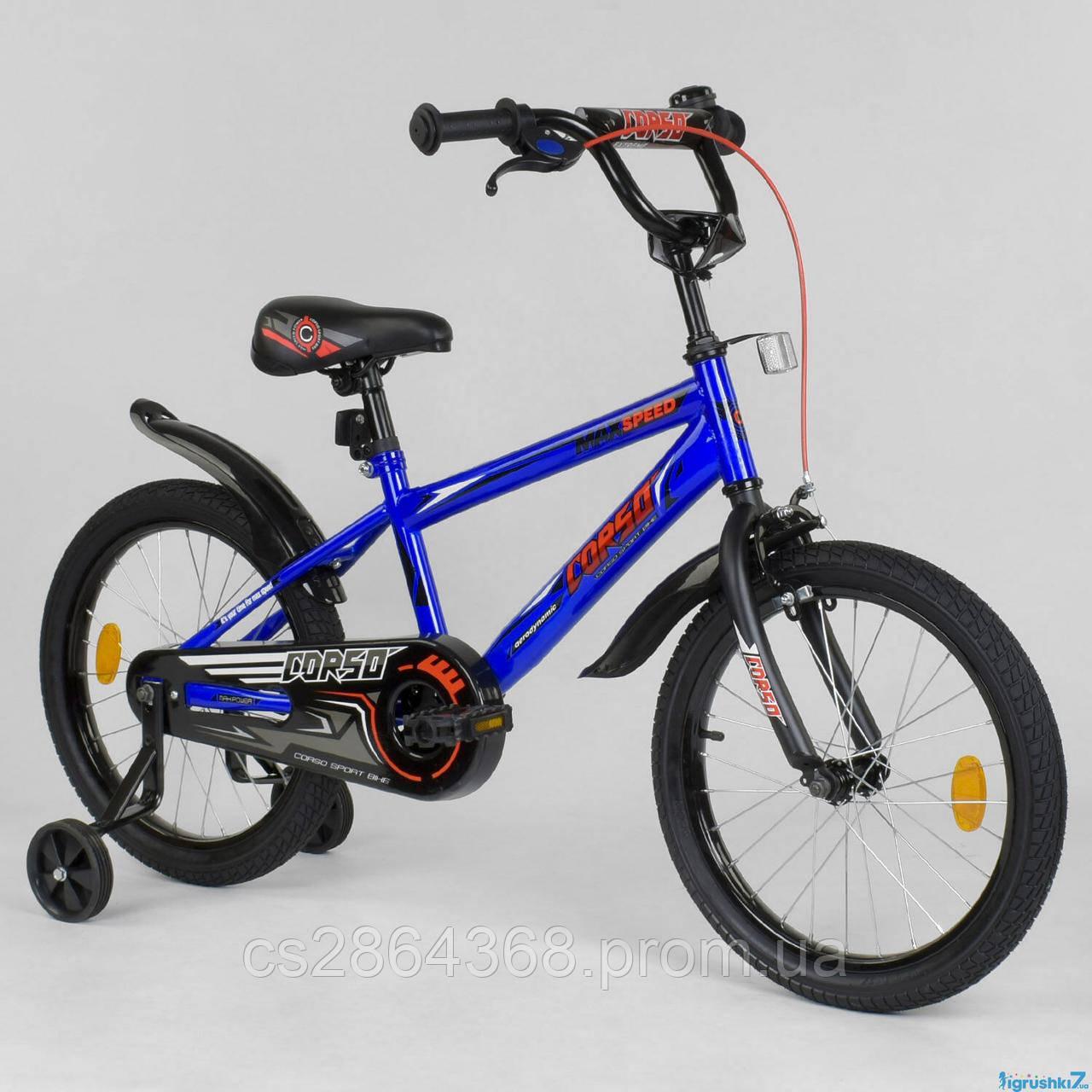 "Велосипед для ребенка Corso Aerodynamic EX 18"""