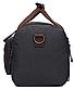 Дорожная сумка текстильная Vintage 20080 Черная, фото 3