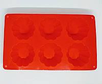Силиконовая Форма для кексов №064