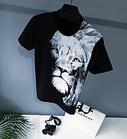 Мужская брендовая футболка Givenchy (Люкс качество )