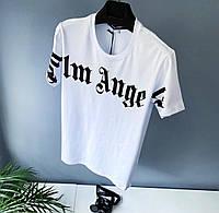Мужская брендовая футболка palm angels (Люкс качество )