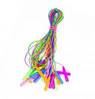 Скакалка цветная (10 штук) BT-JR-0015, (Оригинал)