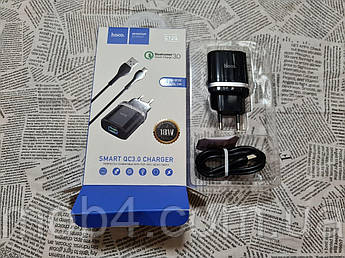 Сетевое Зарядное Устройство Hoco C12Q MICRO USB