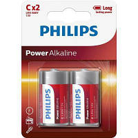 Батарейка PHILIPS C LR14 Power Alkaline * 2 (LR14P2B/10)