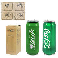 """Термос-термокружка """"Coca-Cola"""" (зеленый) H-195, (Оригинал)"""