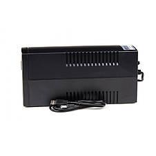 ИБП Frime Standart 650VA FST650VAPU, Lin.int., AVR, 2 х евро, USB, пластик, фото 3