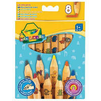 Набор для творчества Crayola 8 цветных карандашей из красного дерева (3678)