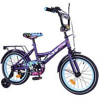 "Велосипед EXPLORER 16"" черно-синий T-216115, (Оригинал)"
