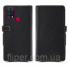 Чехол книжка Stenk Wallet для Samsung Galaxy M31 Чёрный