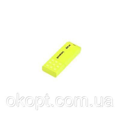 USB флеш накопитель GOODRAM 64GB UME2 Yellow USB 2.0 (UME2-0640Y0R11)