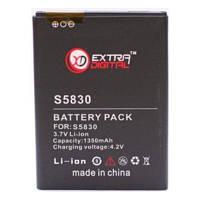 Аккумуляторная батарея EXTRADIGITAL Samsung GT-S5830 Galaxy Ace (1350 mAh) (BMS6321)