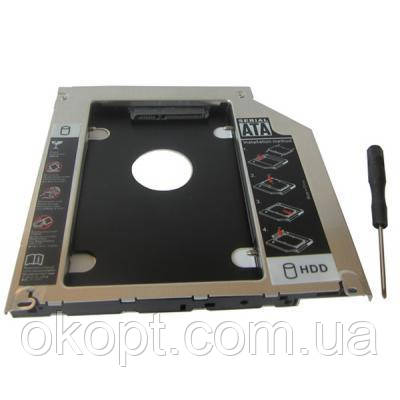 "Фрейм-переходник Maiwo 2,5"" HDD/SSD SATA3 Macbook (Pro/Air) 13"" 15"" 17"" (NSTOR-Macbook)"