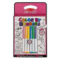 Набор для творчества Melissa&Doug Цветная раскраска по номерам розовая (MD5377)