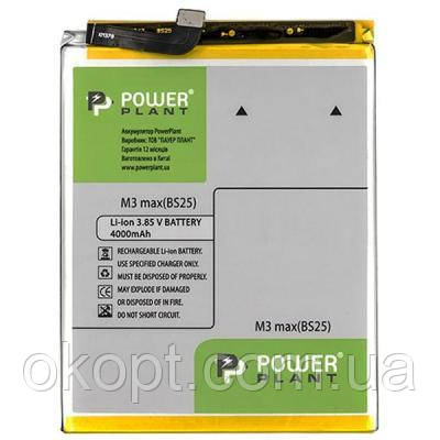 Акумуляторна батарея для телефона PowerPlant Meizu M3 Max (BS25) 4000mAh (SM210053)