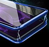 Магнітний металевий чохол FULL GLASS 360° для Huawei P30 Lite /, фото 10